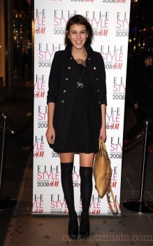Alexa Chung Launch of the annual Elle Style Awards held at H&M in Oxford Street London, England - 24.01.08 Credit: (Mandatory): Daniel Deme / WENN
