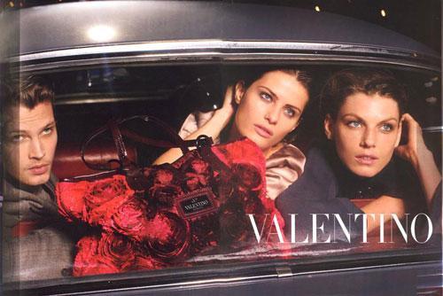 valentino fw08 angela lindvall taylor fuchs and isabeli fontana