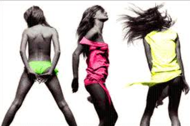 fluro-skirts