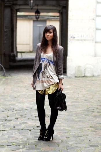 gold-shorts