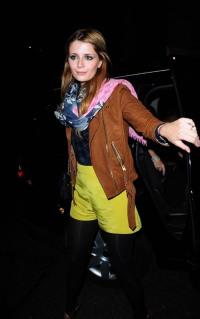 22909, LONDON, ENGLAND - Tuesday June 18 2008. UK OUT: Mischa Barton arrives at Mahiki nightclub in London with a gold band on her wedding ring finger. Could it be a gift from her boyfriend Taylor Locke? Photograph: Focus Pictures, (Newscom TagID: pacificphotos020530) [Photo via Newscom]